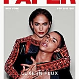 Jennifer Lopez on the Cover of Paper Magazine With Olivier Rousteing