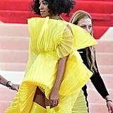 Solange Knowles at Met Gala 2016