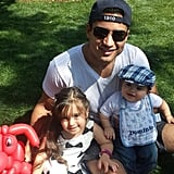 Mario Lopez's Family Pictures on Instagram
