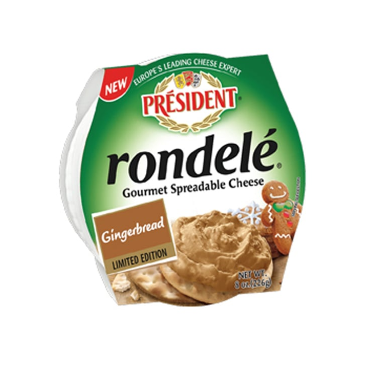 Gingerbread Rondelé From Président Cheese