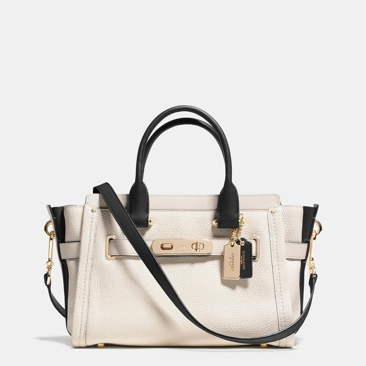 Coach Swagger 27 Carryall In Colorblock Leather ($450)