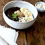 Dark Chocolate Coconut Smoothie Bowl