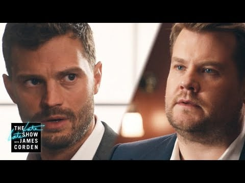 James Corden and Jamie Dornan 50 Shades of Corden Video