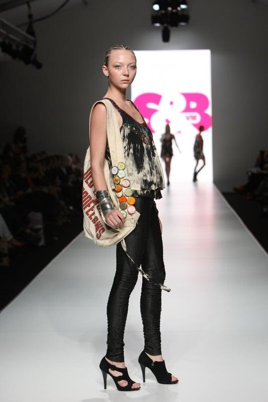 Australia Fashion Week: S&B by Sass and Bide Spring Summer 2008/2009 Catwalk Runway Images