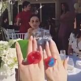 Selena Gomez at Friend Courtney Barry's Bridal Shower Photos