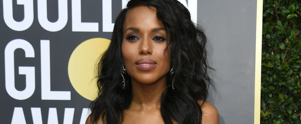 Kerry Washington and Nnamdi Asomugha Make a Rare and Glamorous Appearance at the Globes