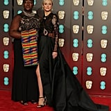 Andrea Riseborough and Phyll Opoku-Gyimah