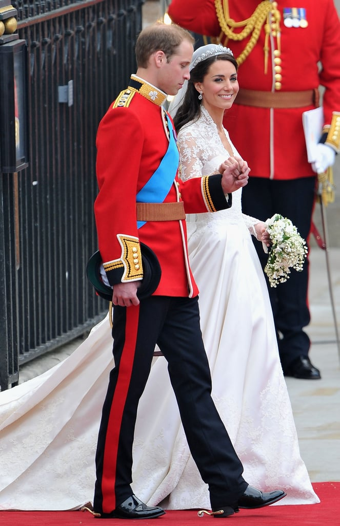 Who could forget the royal wedding? Kate Middleton married Prince William in a massive ceremony at Westminster Abbey on April 29, 2011.