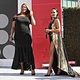 Pictured: Queen Latifah and Jada Pinkett Smith