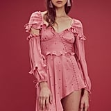 For Love and Lemons Rosie Ruffled Mini Dress