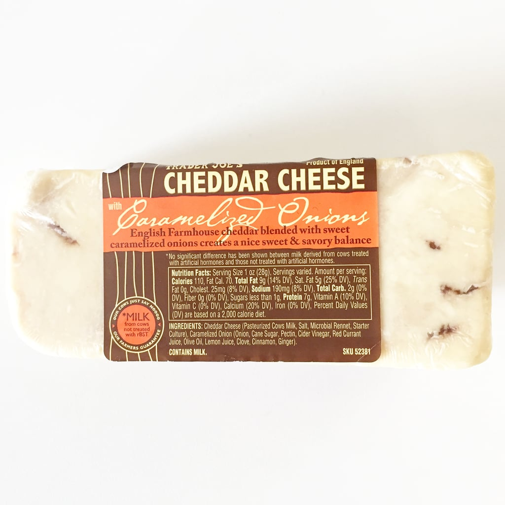 Trader Joe's Cheddar Cheese With Caramelized Onions