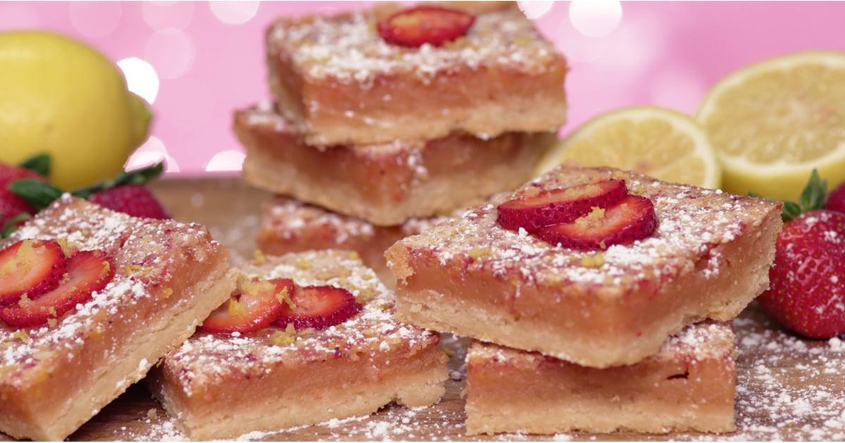 Pink Lemonade Bars | POPSUGAR Food