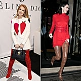Celine's Kendall Jenner Thigh-High Moment