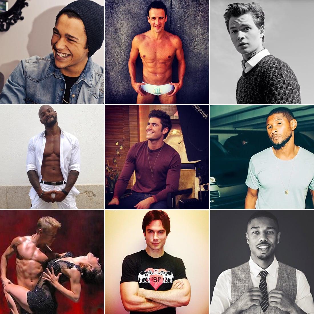 Famous hot guy actors