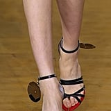 Burberry Shoes on the Runway at London Fashion Week