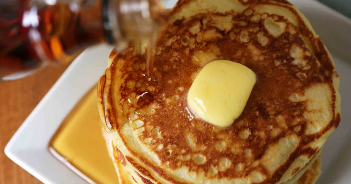 These Fluffy Buttermilk Pancakes May Be the Best Freakin' Pancakes You've Ever Had