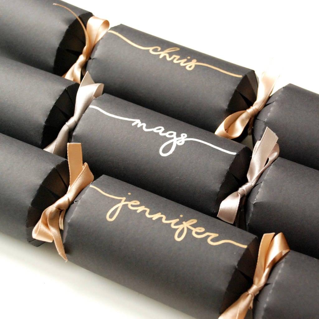 Personalised Handwriting Crackers