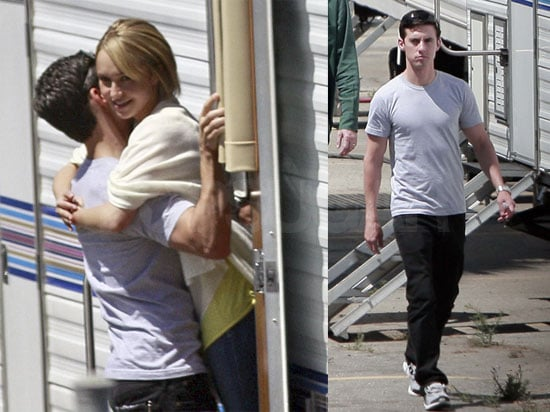 Photos of Hayden Panettiere and Milo Ventimiglia Dating On The Set of Heroes