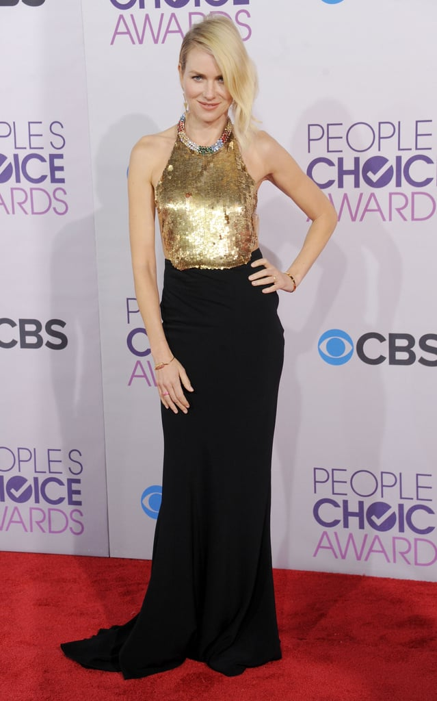 Is there anything more glamorous than a red carpet gown? When it's your time to shine, we think the Alexander McQueen gown ($4,008, originally $5,725) Naomi Watts wore to the People's Choice Awards will do the trick.