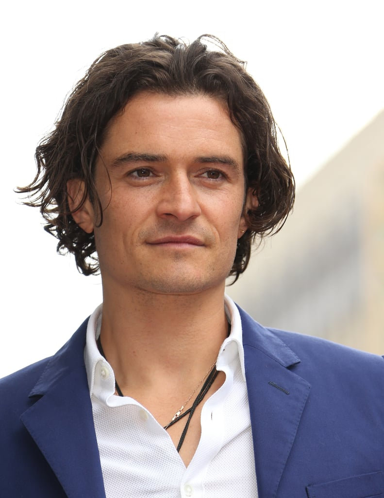 Orlando Bloom Male Celebrities With Long Hair Popsugar
