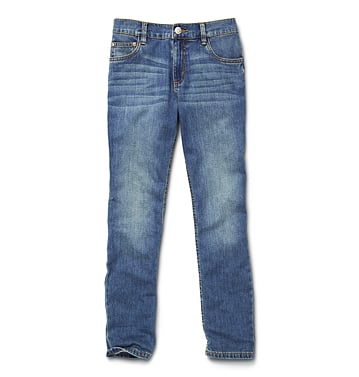 Joe Fresh's everyday boyfriend jeans ($29) ring in under $30!