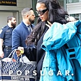 Rihanna's Dior Bag With Her Name on It