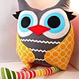 Plush Owl Pillow ($30)