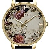 Ted Baker London Leather Strap Watch, 40mm ($155)