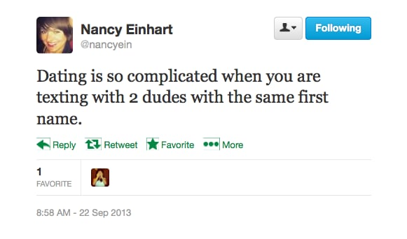 Nancy's Social Media Snafu