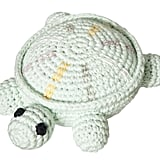 Crochet Turtle Rattle ($12)