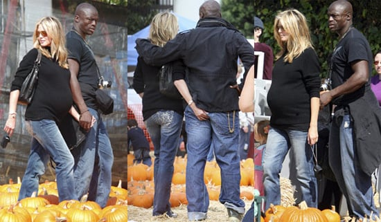 Heidi Picks out her Perfect Pumpkin