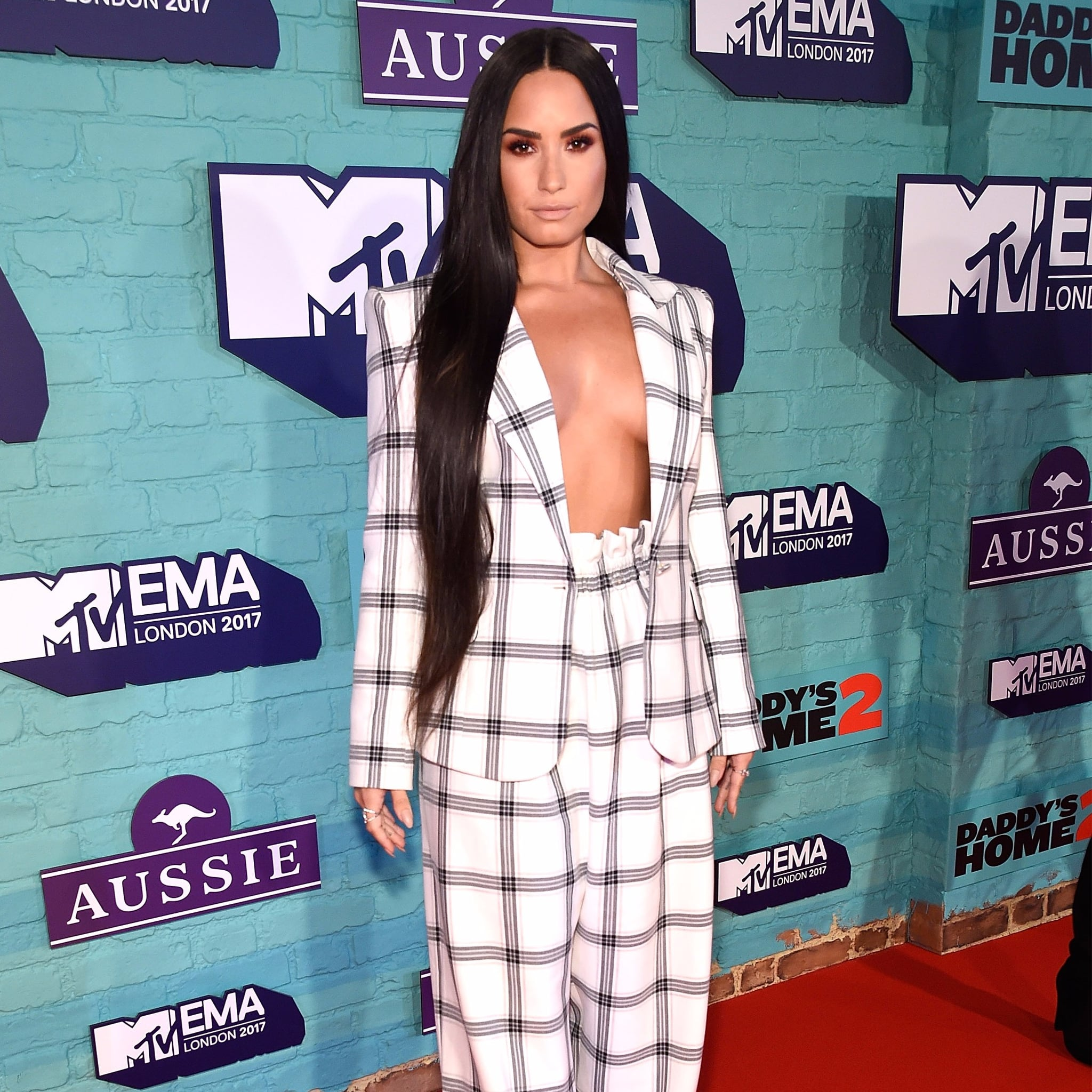 Image result for demi lovato styland suit