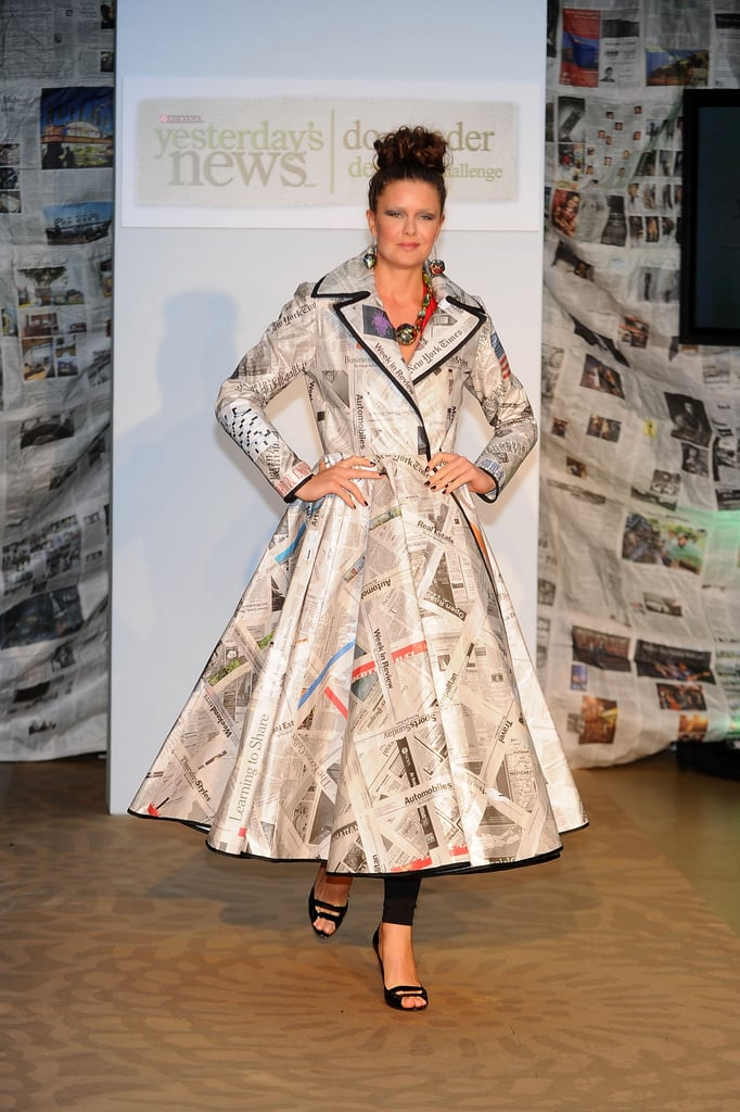 Dresses Made Out Of Newspaper Popsugar Fashion Photo 3