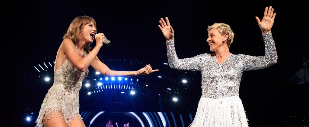 Ellen DeGeneres Is by Far Taylor Swift's Most Fashionable Concert Guest