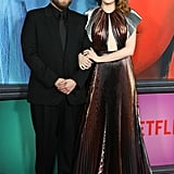 Emma Stone and Jonah Hill at Maniac Premiere 2018