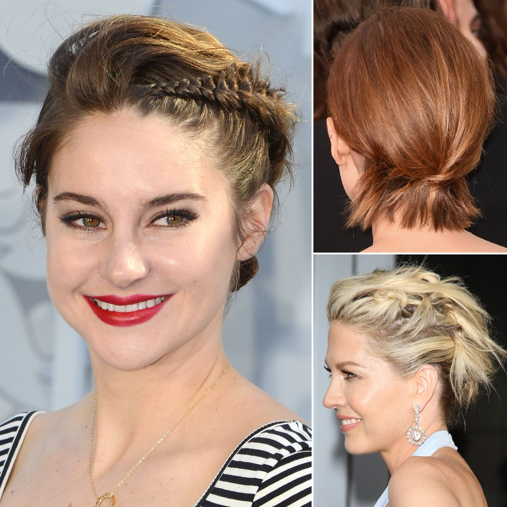 Short Hair Styles Updo How To Do Updos For Short Hair And Bobs  Popsugar Beauty Australia
