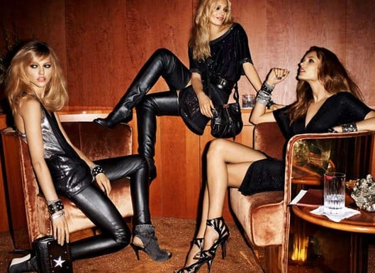 Jimmy Choo for H and M Ad Campaign Autumn 2009