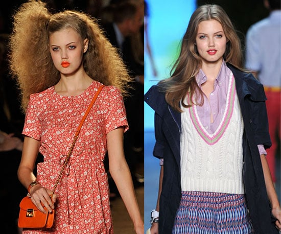 Pictures of Model Lindsey Wixson at New York Fashion Week