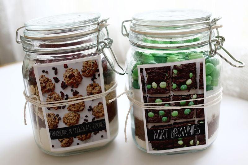 DIY Cookie and Brownie Mixes