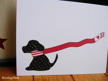Valentines  For the Dogs Design by RiverDogPrints ($15 for 12)