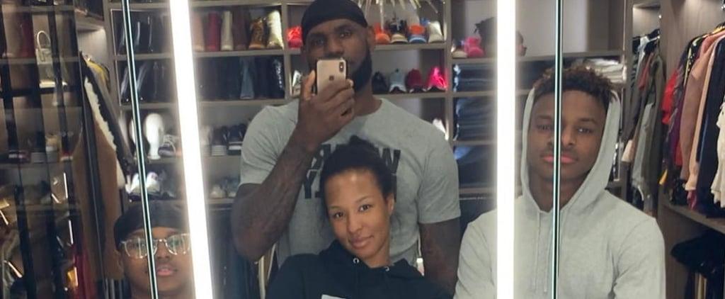 LeBron James Family Photo February 2019