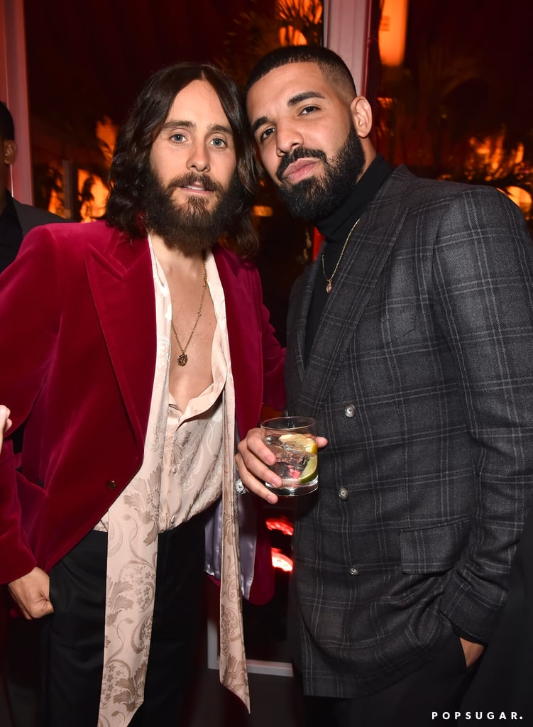 Pictured: Jared Leto and Drake