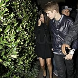 Justin Bieber Welcomes 17 on a Dinner Date With Selena Gomez!