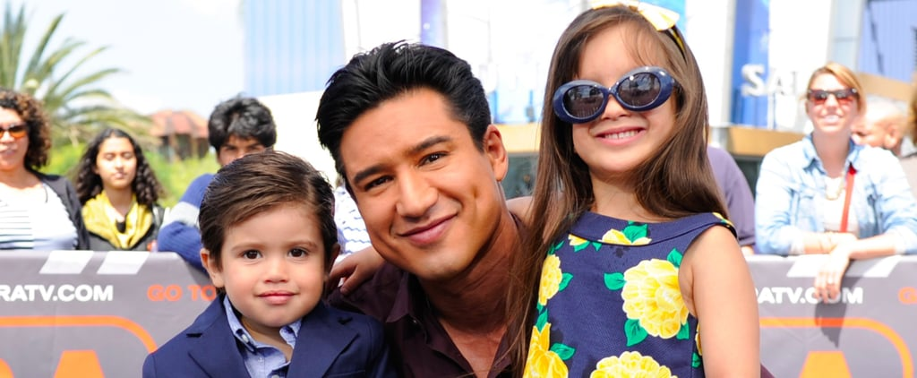 "Mario Lopez Is Officially the Cutest ""Stage Dad"" Ever"