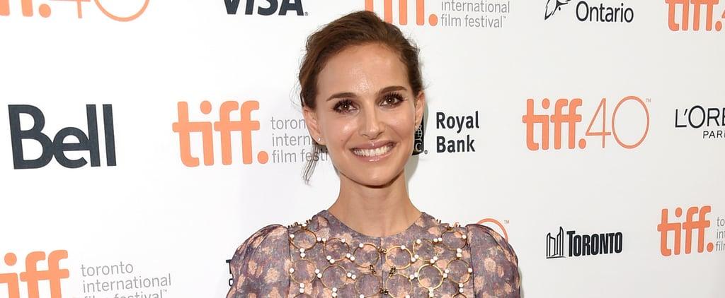 Natalie Portman Makes a Stunning Appearance at a Toronto Soirée