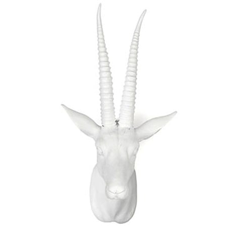 Even animal lovers can get on board with this Gazelle Head Wall Plaque ($50).