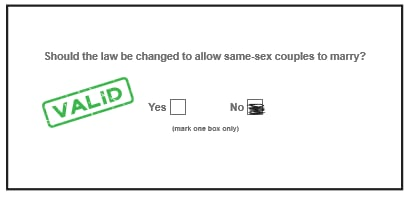What Not to Do to Your Same-Sex Marriage Survey If You Want Your Vote to Count