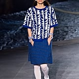 Blue Was a Recurring Theme Throughout the Collection