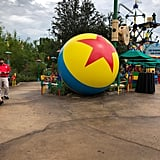 Take a picture in front of the famous Pixar ball.
