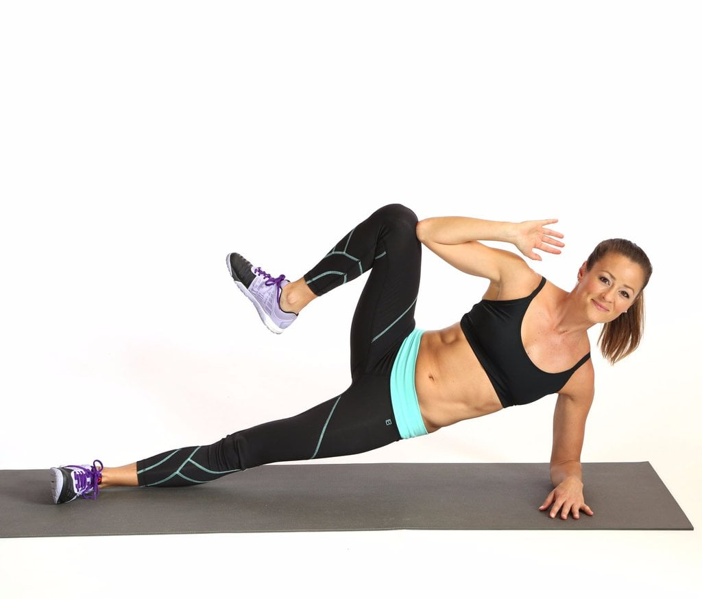 Side Planks With Crunch